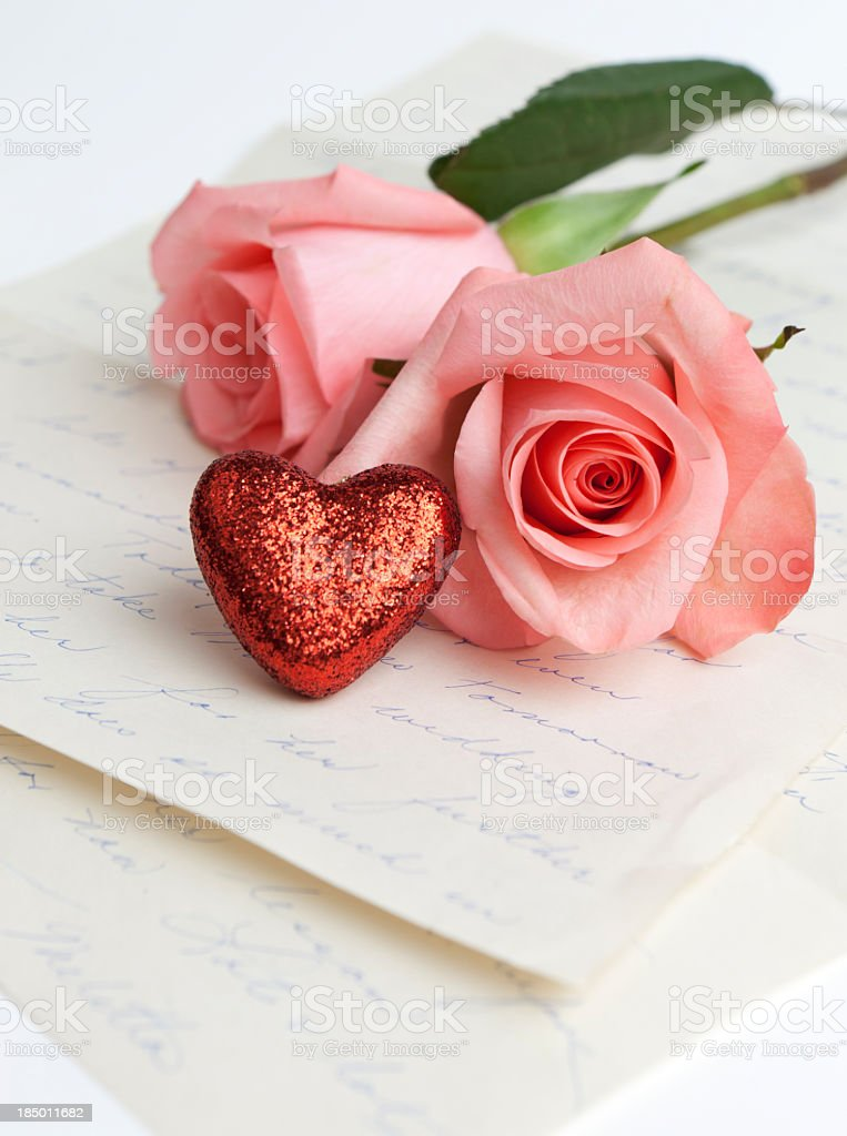 Love letters royalty-free stock photo