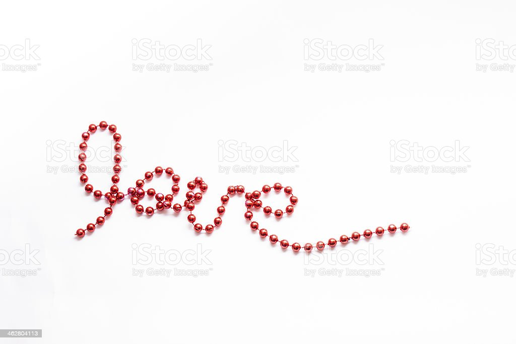 love letters stock photo