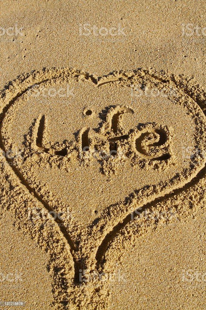 Love Life royalty-free stock photo