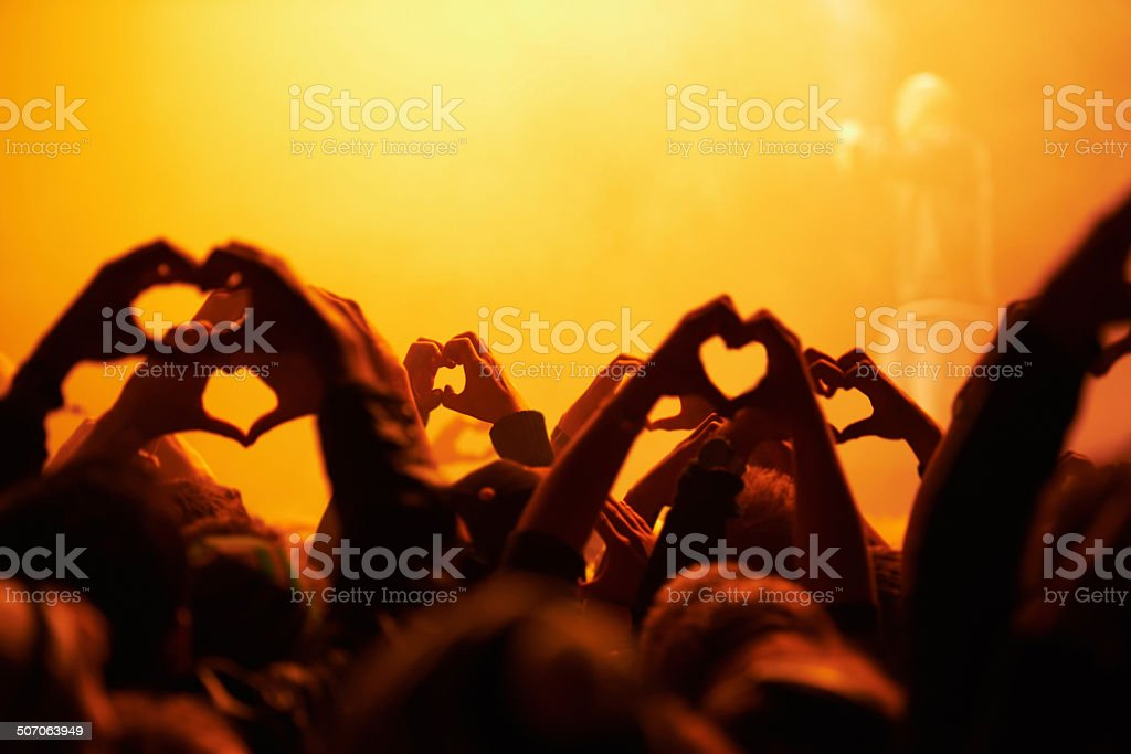 Love, light and peace stock photo