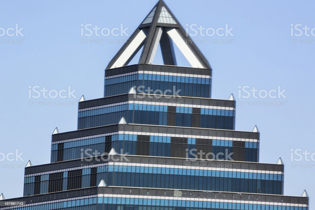 Love local:  Tallest building in Montreal royalty-free stock photo