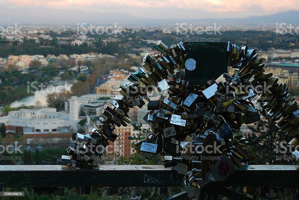 Love Locks royalty-free stock photo