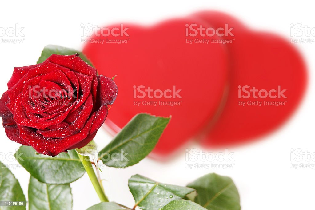 Love message stock photo