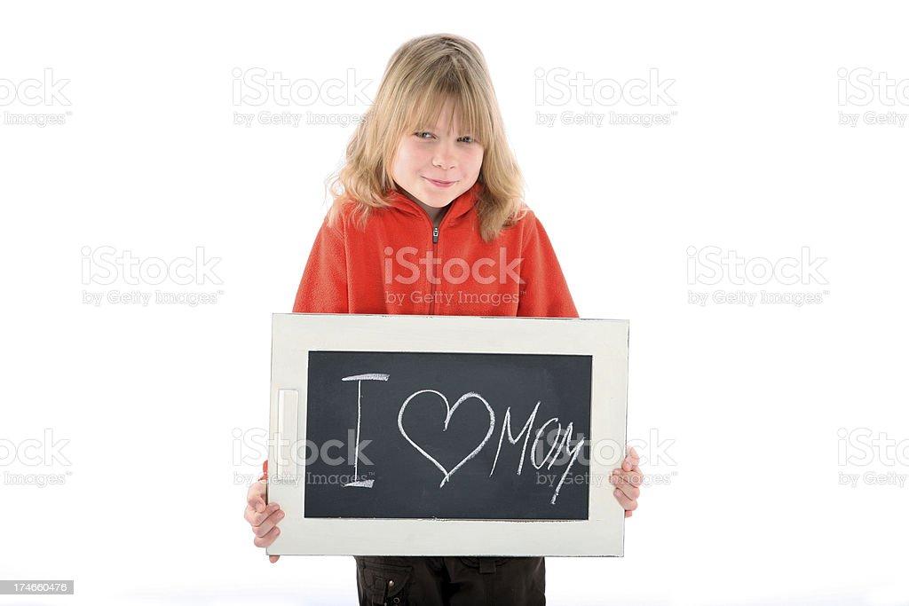 love mom royalty-free stock photo