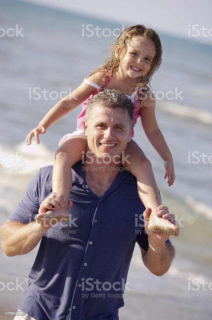 I love my dad royalty-free stock photo