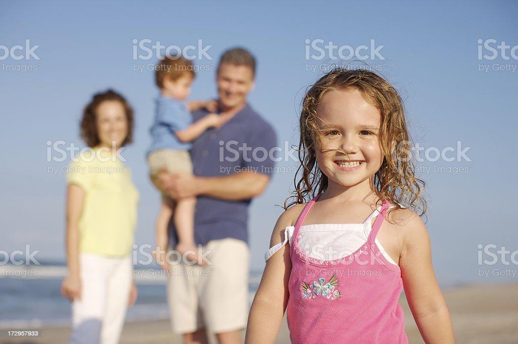 I love my family royalty-free stock photo