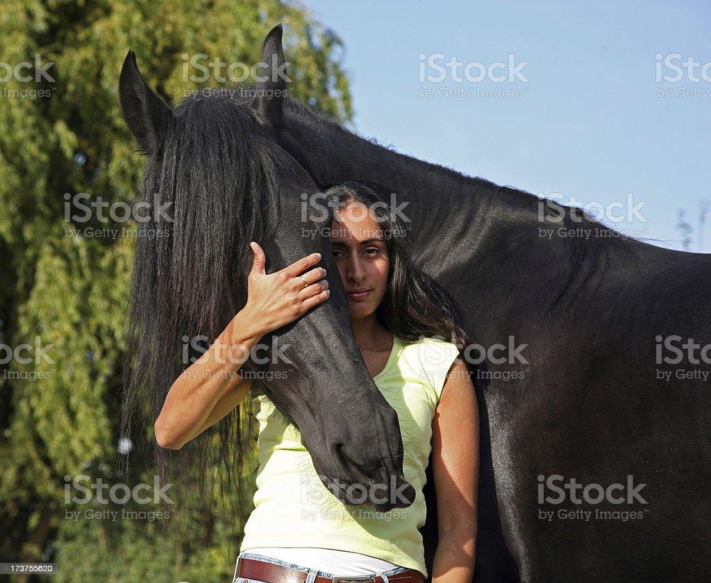 I love my horse stock photo