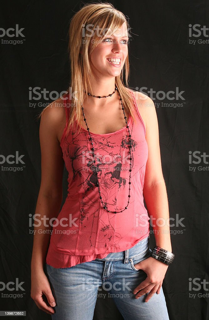 Love my Jeans royalty-free stock photo