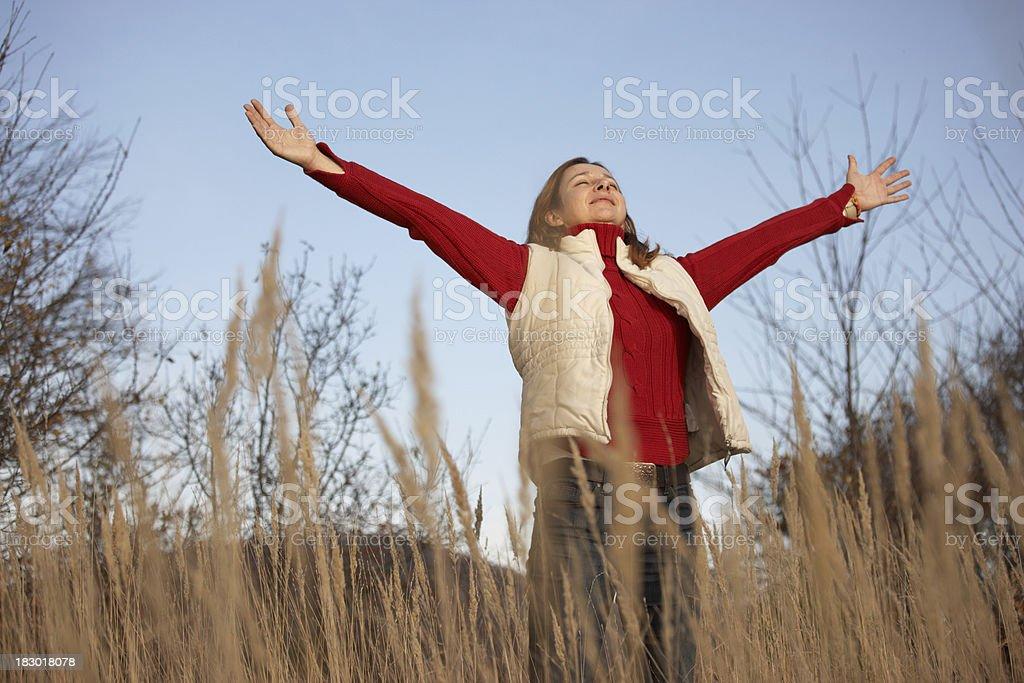 I love my life! royalty-free stock photo
