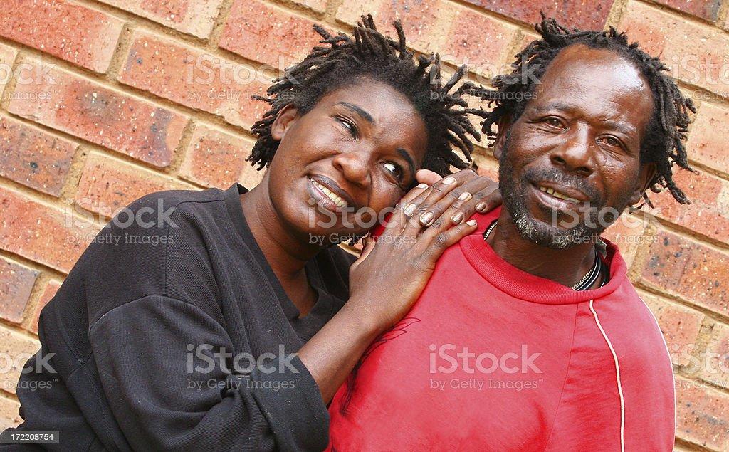 I Love My Man stock photo