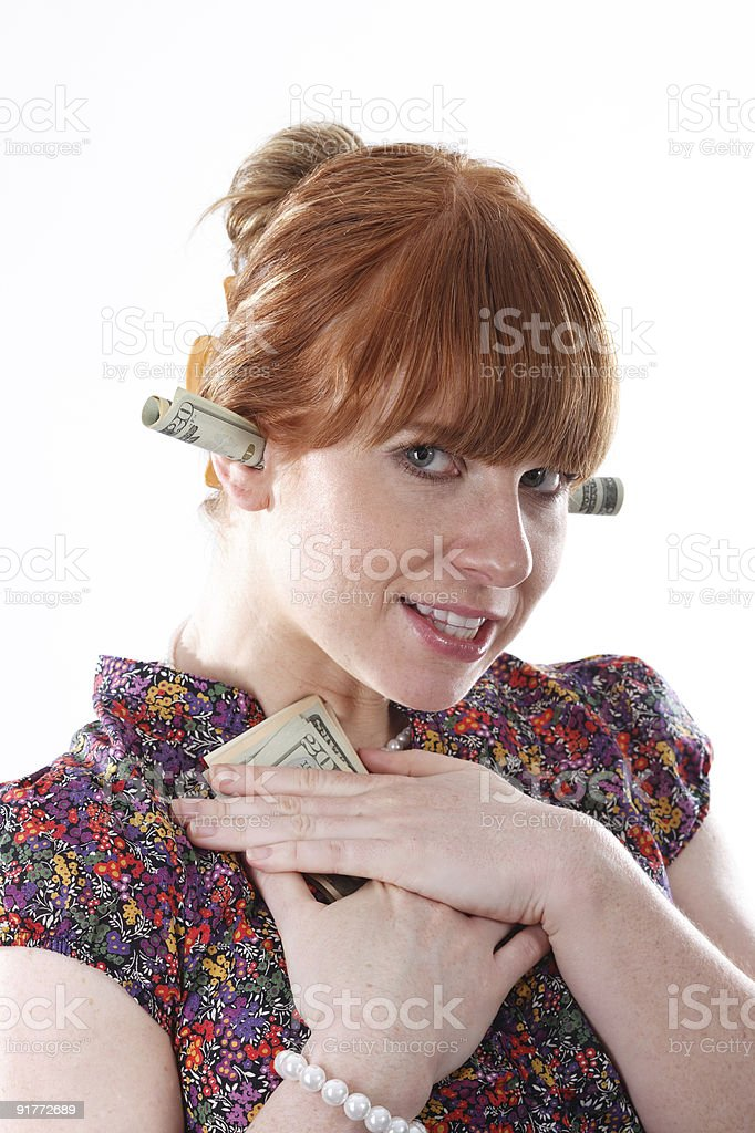 I love my money stock photo