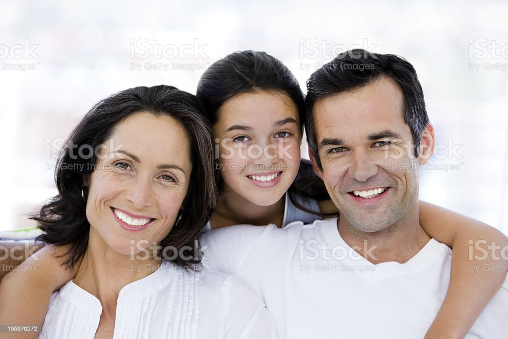 I love my parents royalty-free stock photo