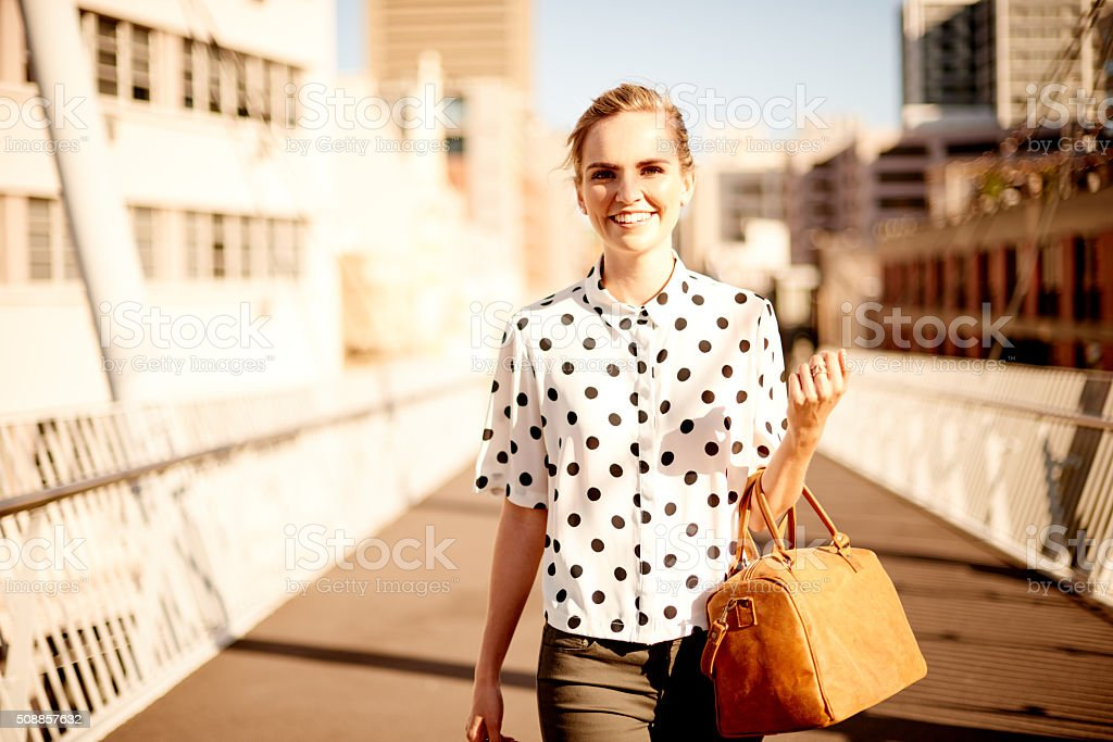 I love my urban lifestyle stock photo
