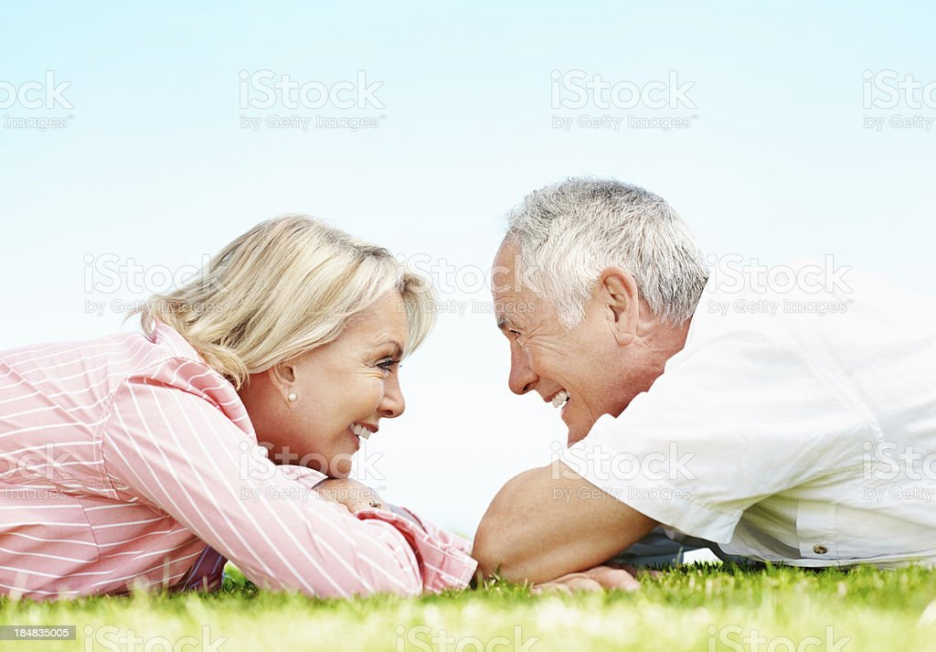 Love never grow old royalty-free stock photo