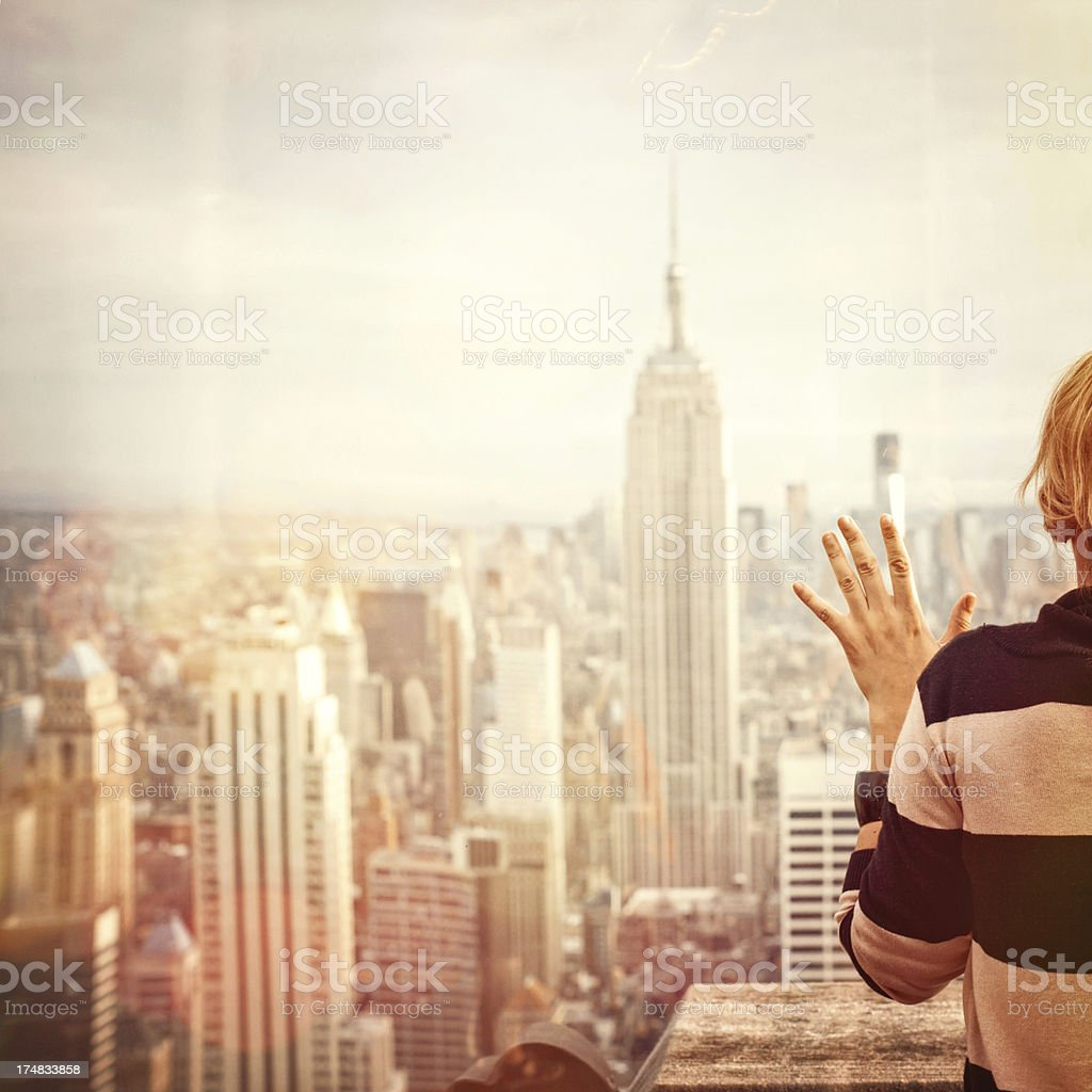 I love New York City royalty-free stock photo
