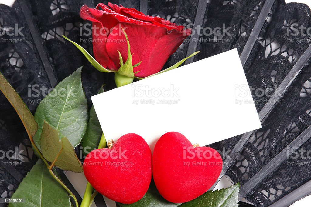 Love note paper royalty-free stock photo