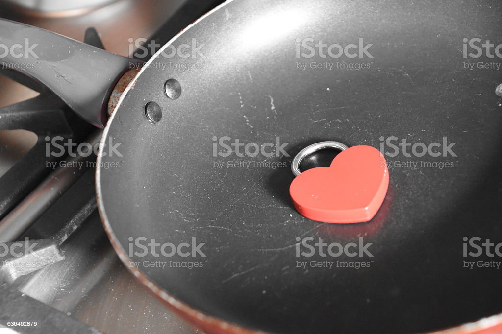 love of cooking Concept stock photo