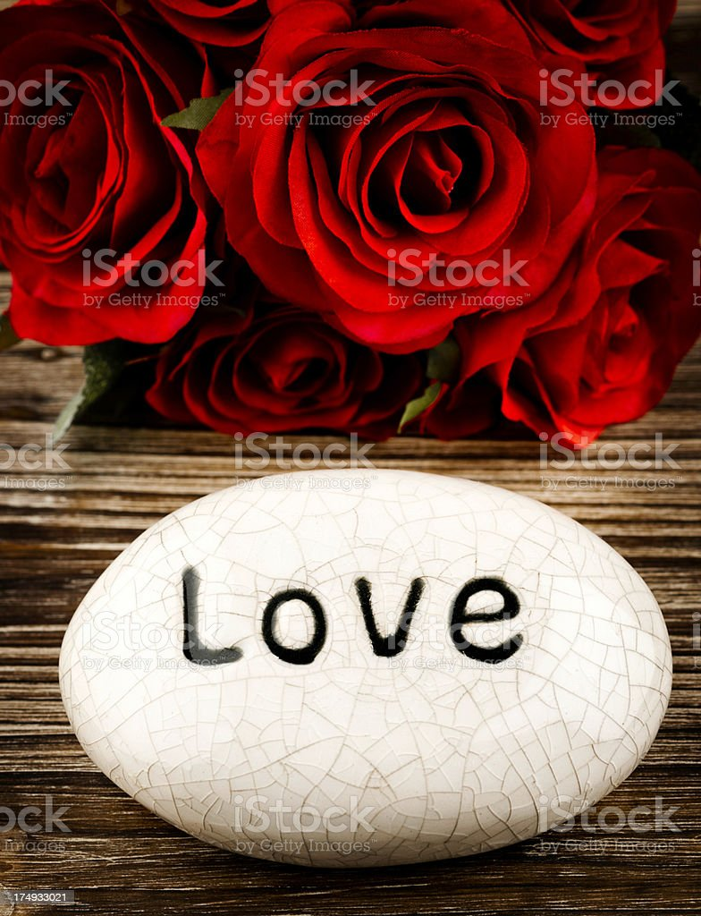 Love on the Rocks royalty-free stock photo