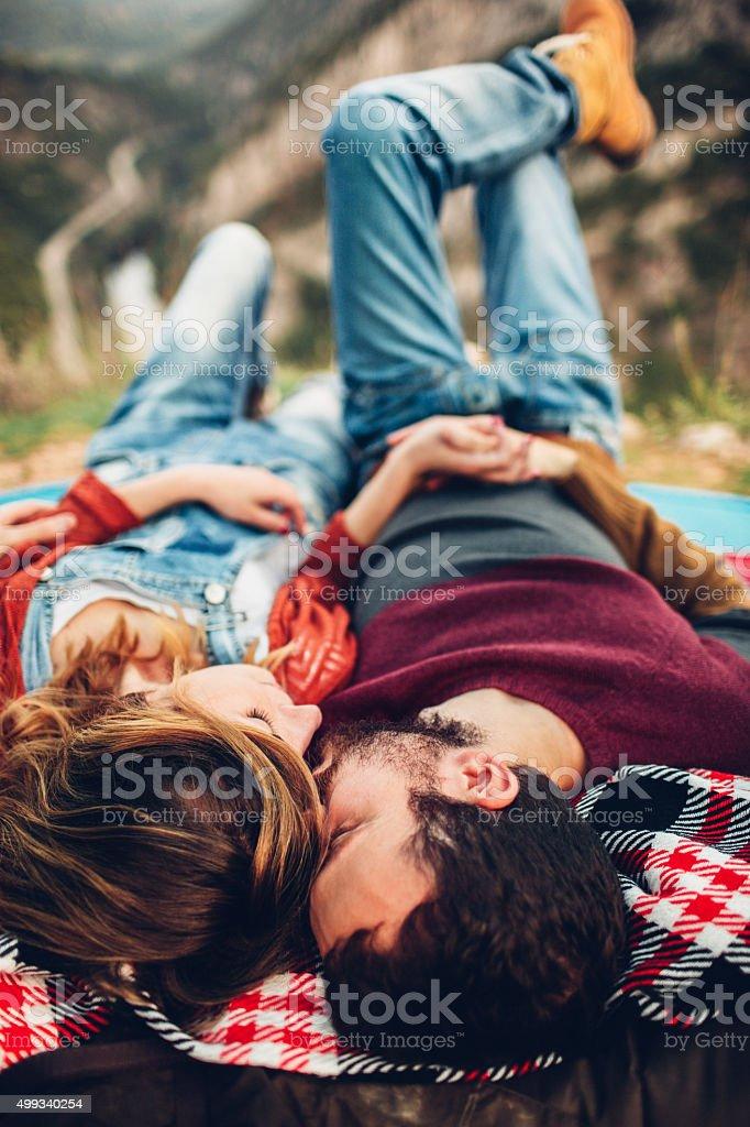 Love on top stock photo