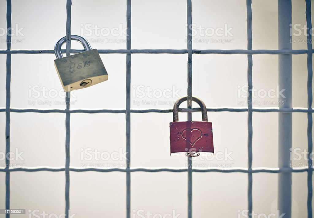 love padloc royalty-free stock photo