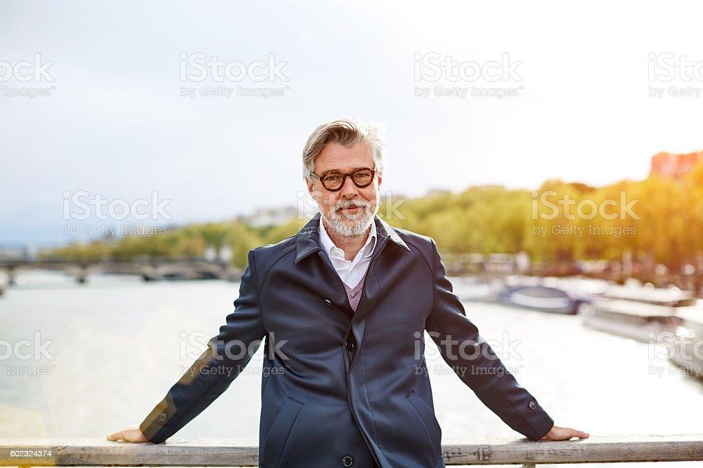 I love Paris in the springtime stock photo