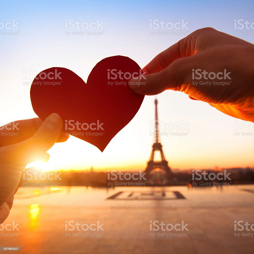 love Paris stock photo