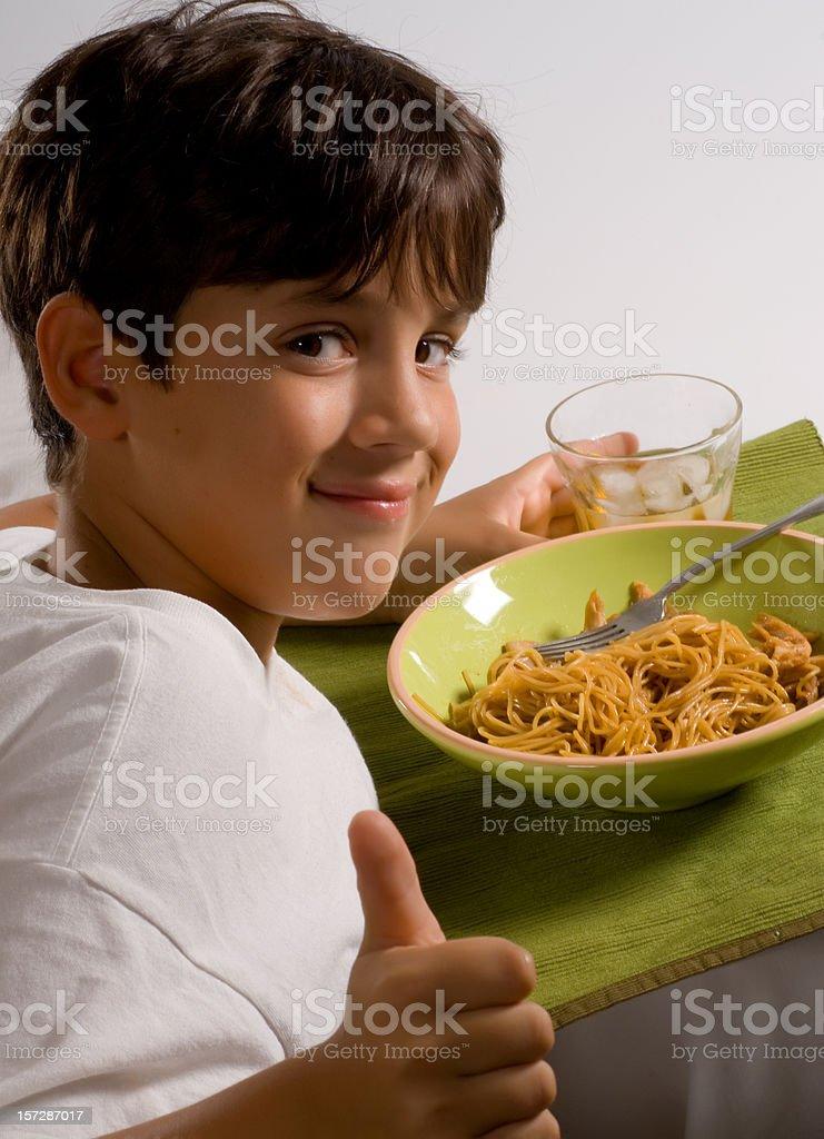 I love pasta stock photo