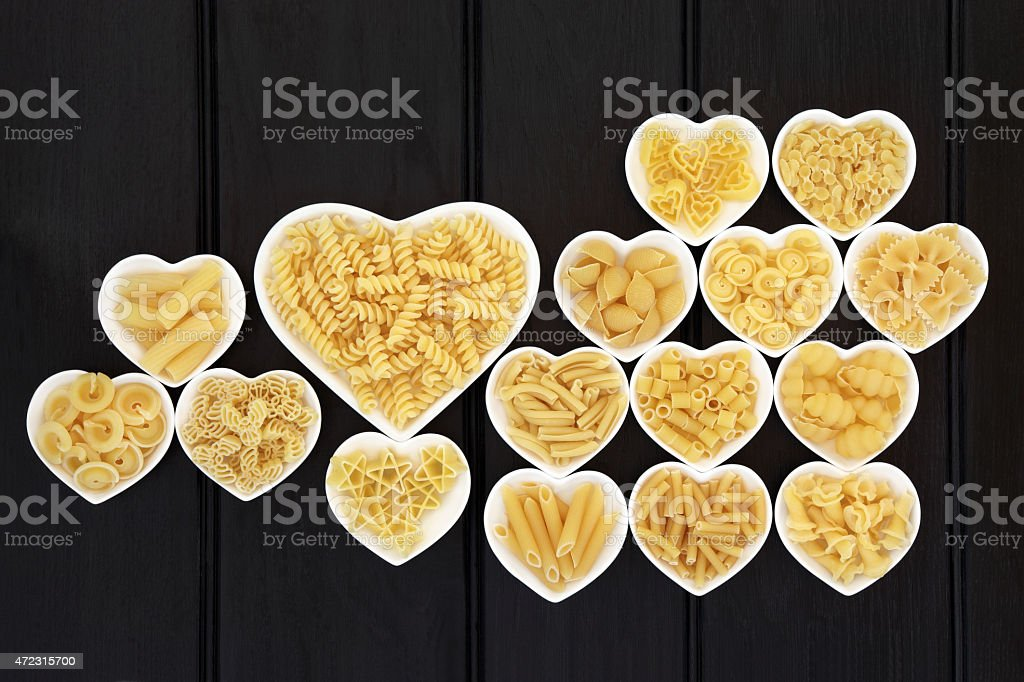 I love Pasta stock photo
