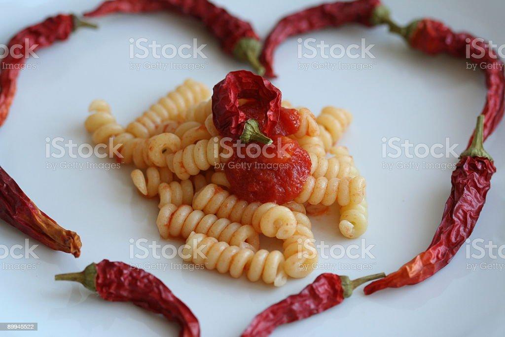 I love pasta! royalty-free stock photo