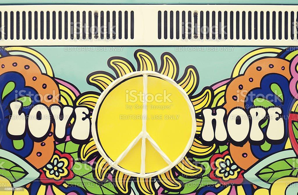 Love Peace Hope stock photo
