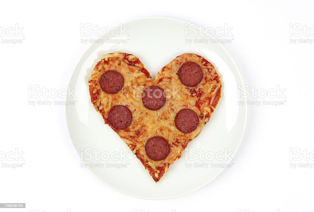 I Love Pizza royalty-free stock photo
