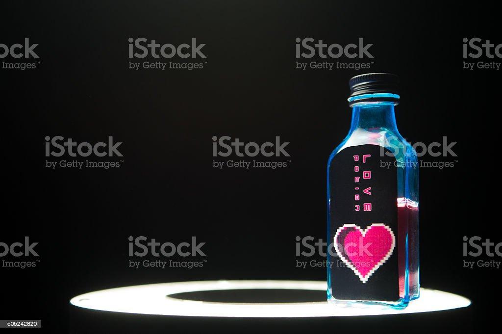 Love Potion, Copy Space stock photo