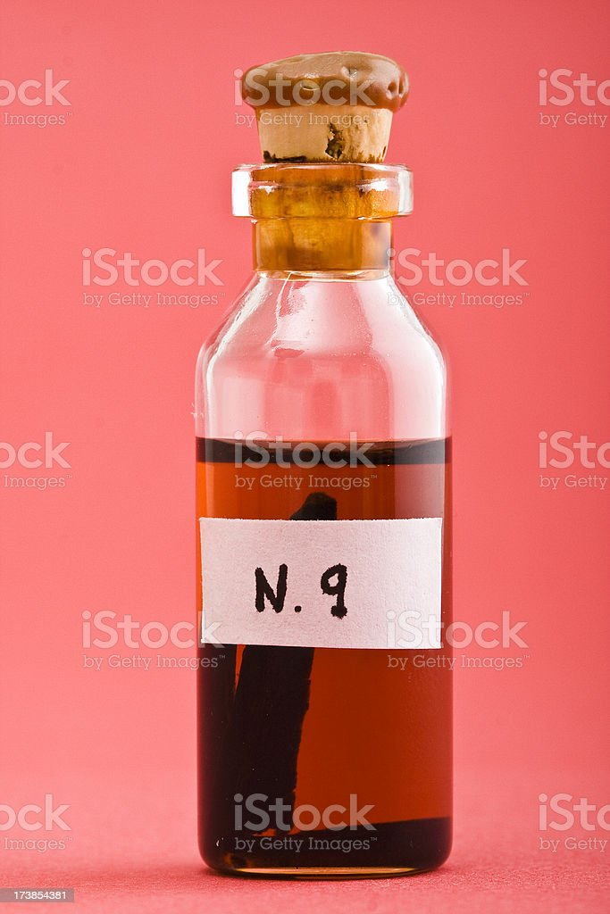 Love potion number 9 stock photo