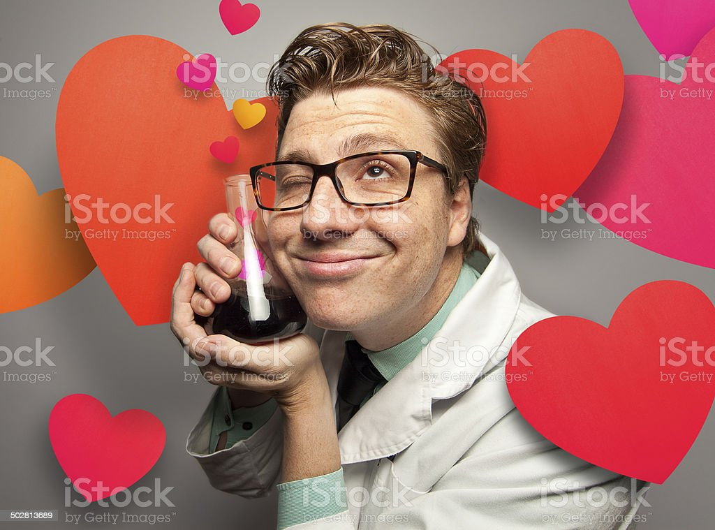 Love Potion! – Paper Graphics Series royalty-free stock photo