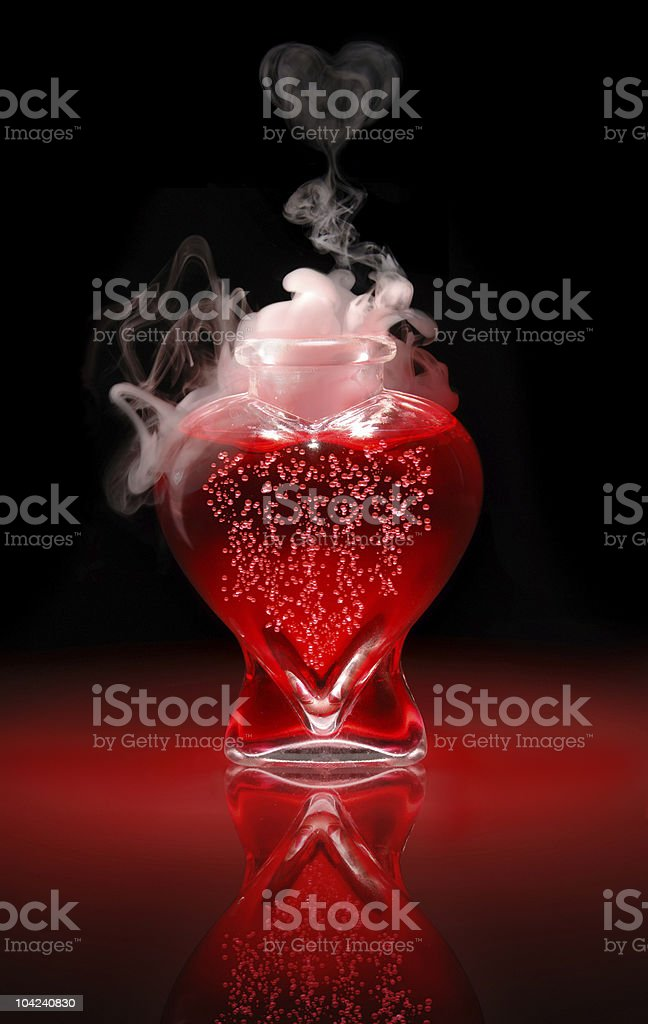 Love Potion uncorked stock photo