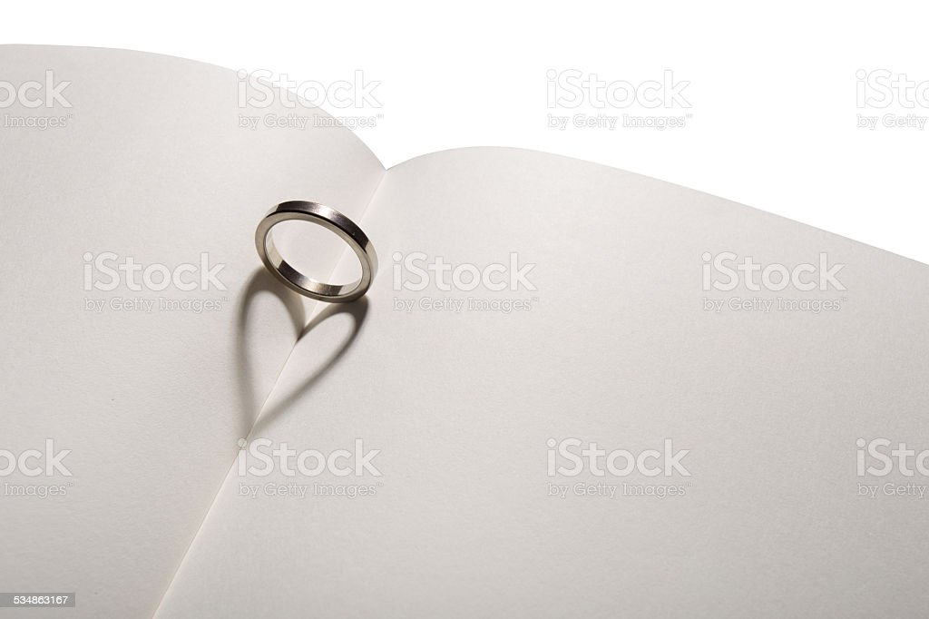 love ring stock photo