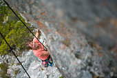I love rock climbing!