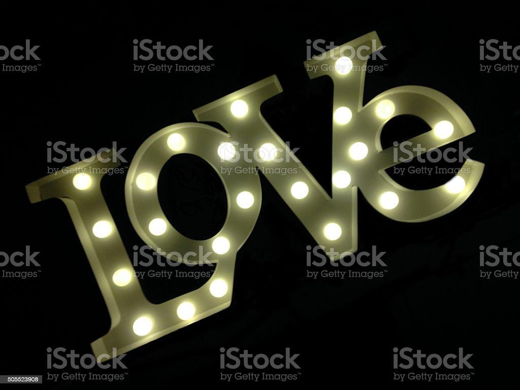 Love Scene stock photo