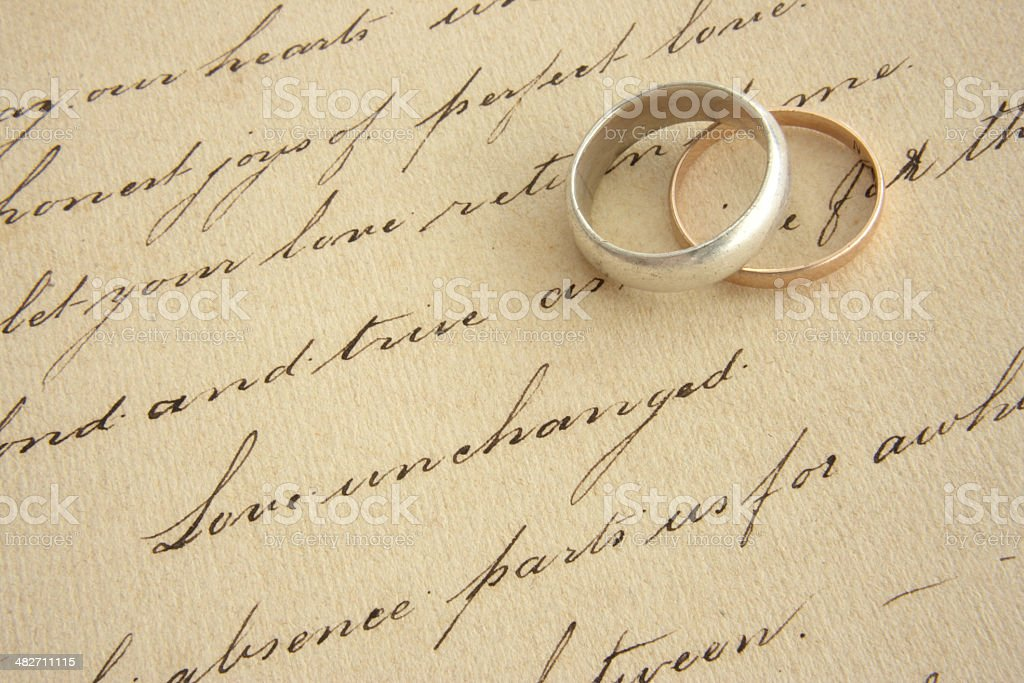 love script royalty-free stock photo