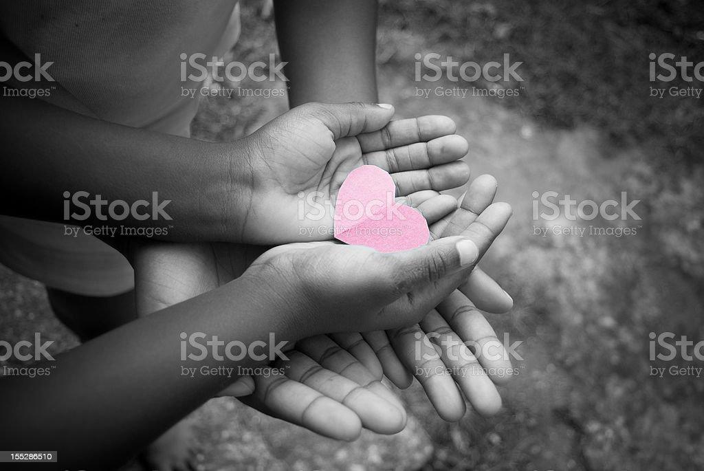 love sharing stock photo