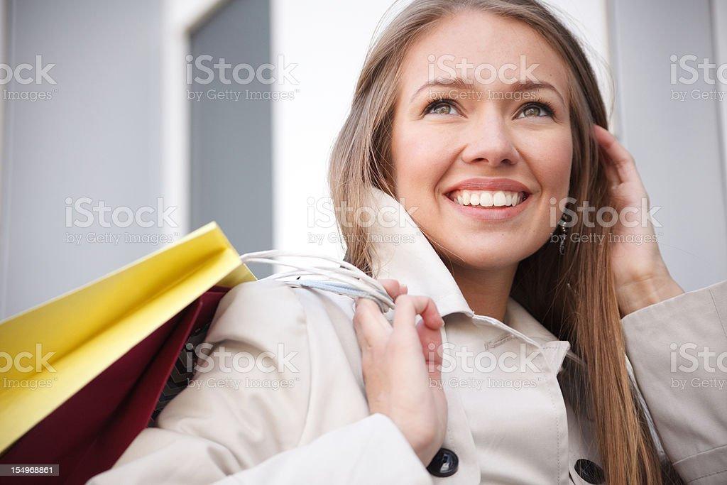 I love shopping! royalty-free stock photo