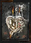 love sickness, 3D Illustration