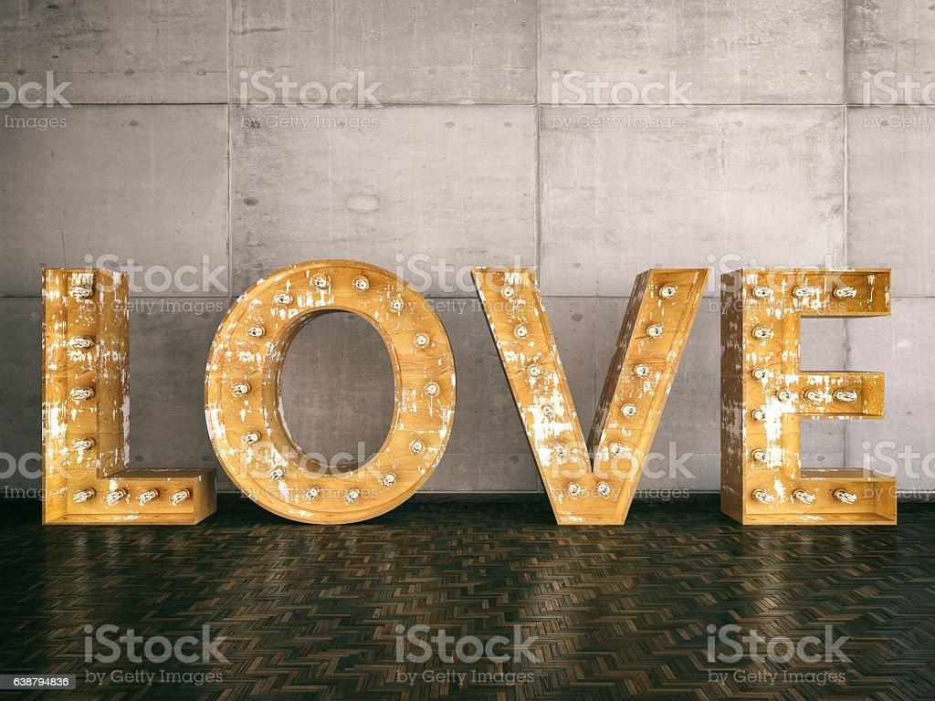 Love Sign stock photo