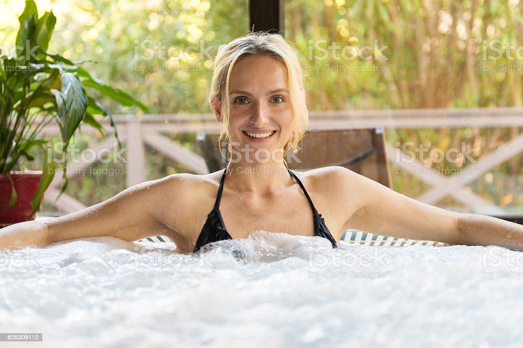 I love spa ! stock photo