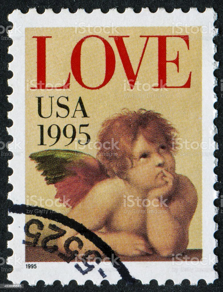 Love Stamp royalty-free stock photo