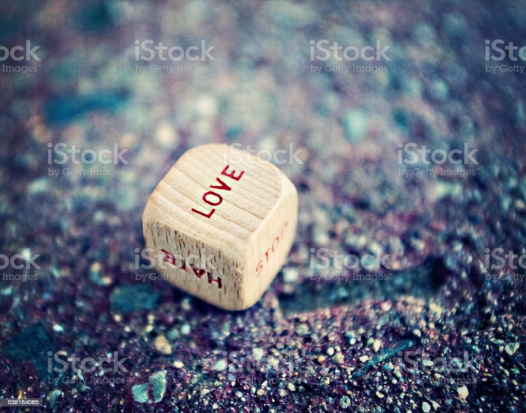 Love, stop hate stock photo
