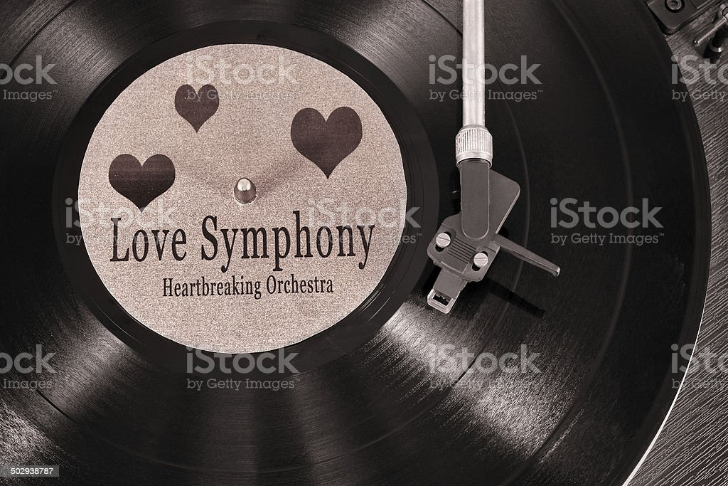 Love Symphony stock photo