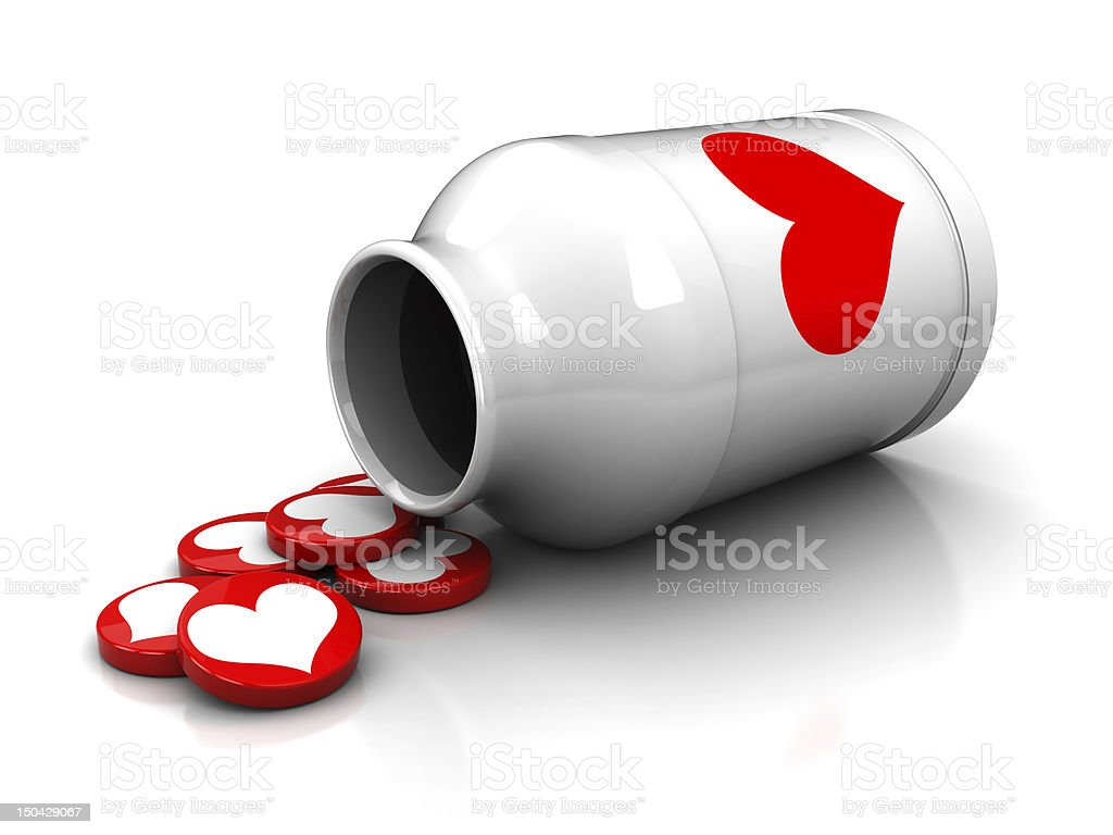 love tablets royalty-free stock photo