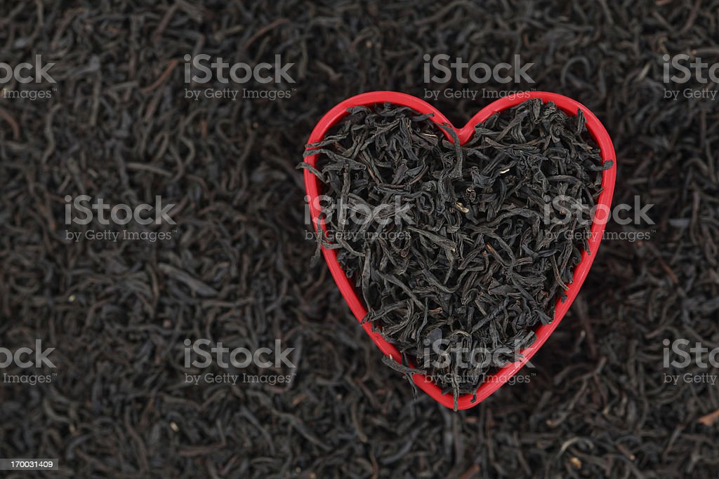 I love tea royalty-free stock photo