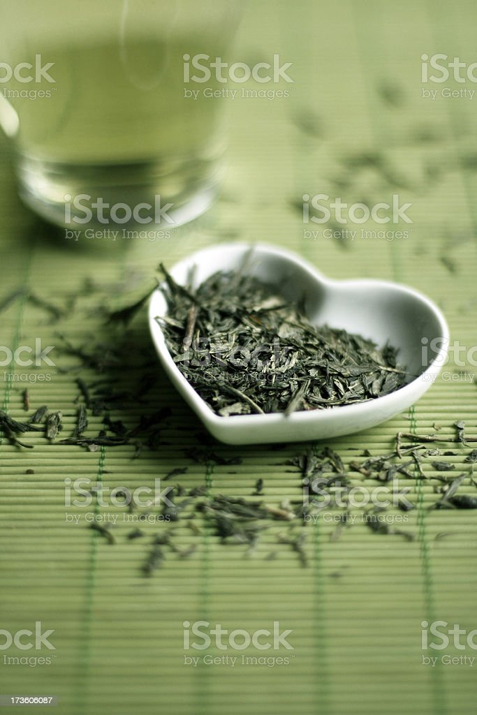 I Love Tea stock photo